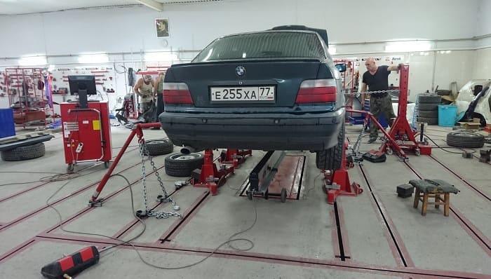 Как проверяют геометрию кузова автомобиля