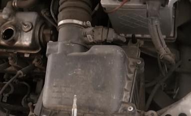 Замена воздушного фильтра Калина