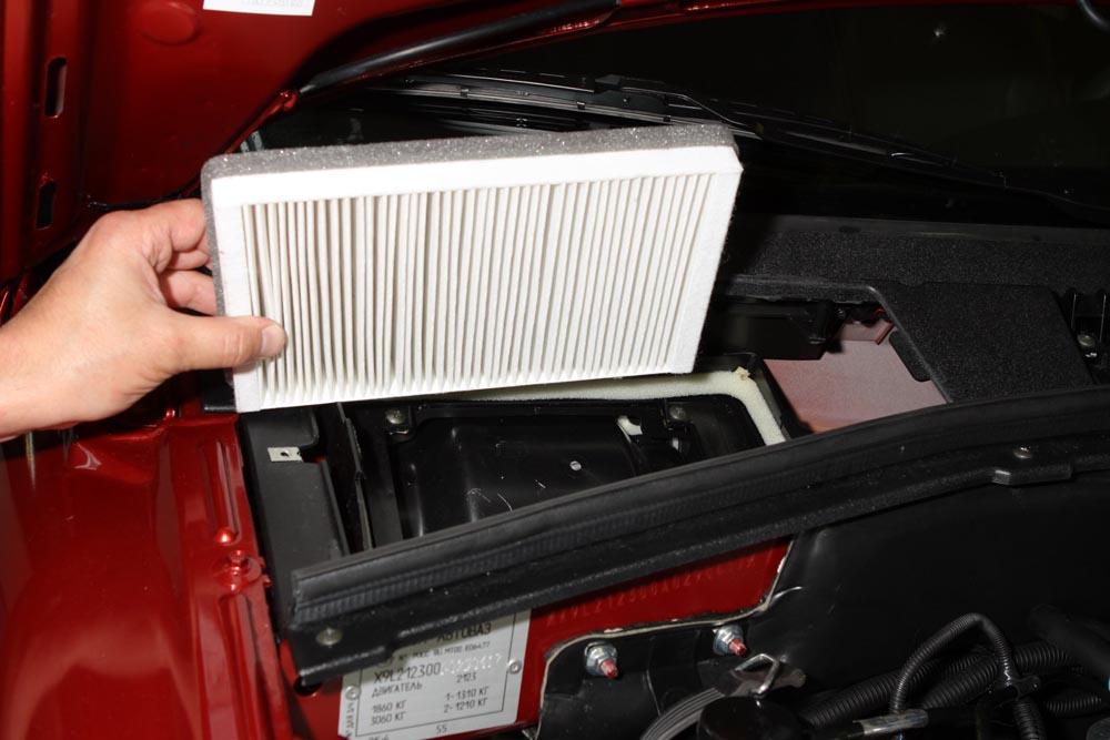 Салонный фильтр Шевроле Нива: где находится, как заменить в авто с кондиционером и без