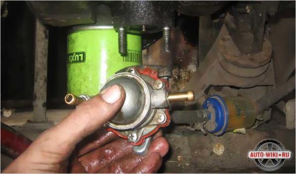 Ремонт и замена бензонасоса ВАЗ 2106 и 2107 с карбюратором и инжектором: не качает топливный насос, как проверить неисправности видео