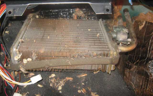 Почему в ваз 2107 плохо греет печка