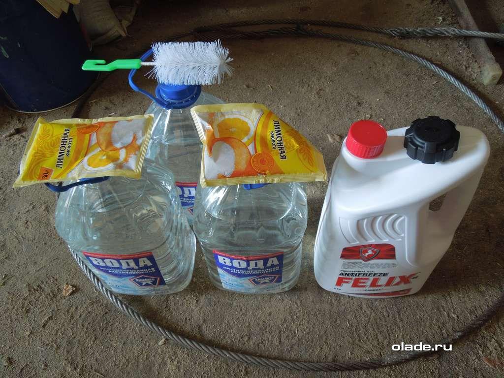 Сколько литров в системе охлаждения приора