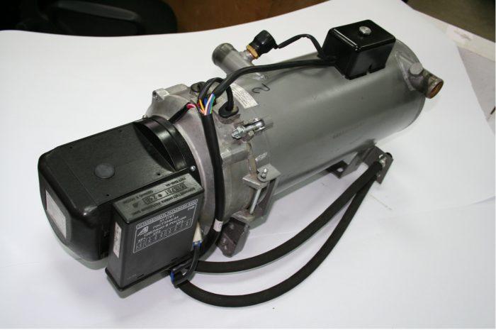 Схема установки подогревателя на автомобиль