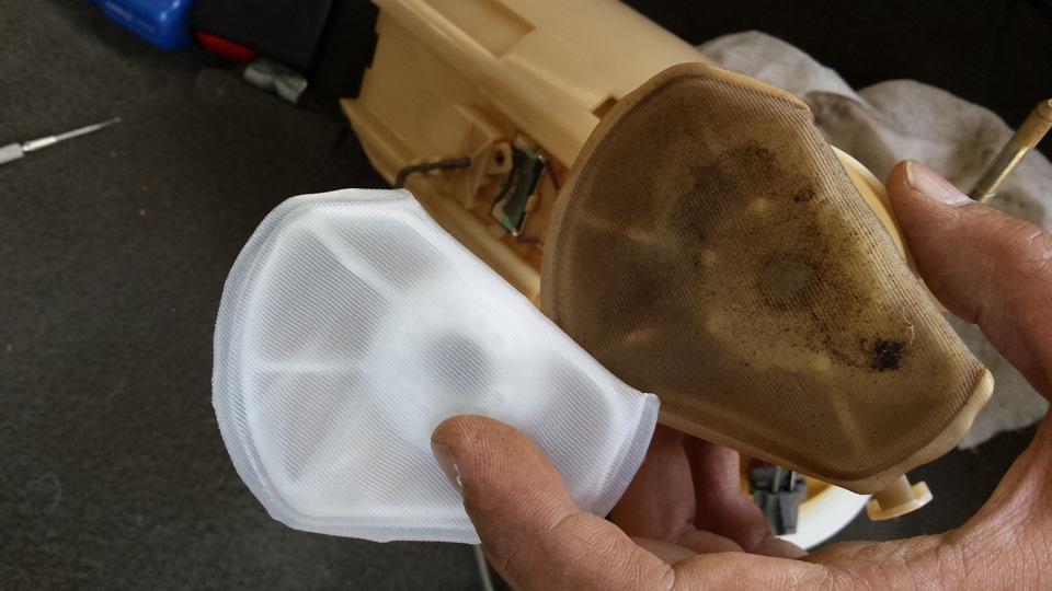 Замена бензонасоса lada kalina hatchback (ваз калина) своими руками